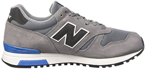 New Balance WL565V1, Baskets Basses Homme Gris (Grey)