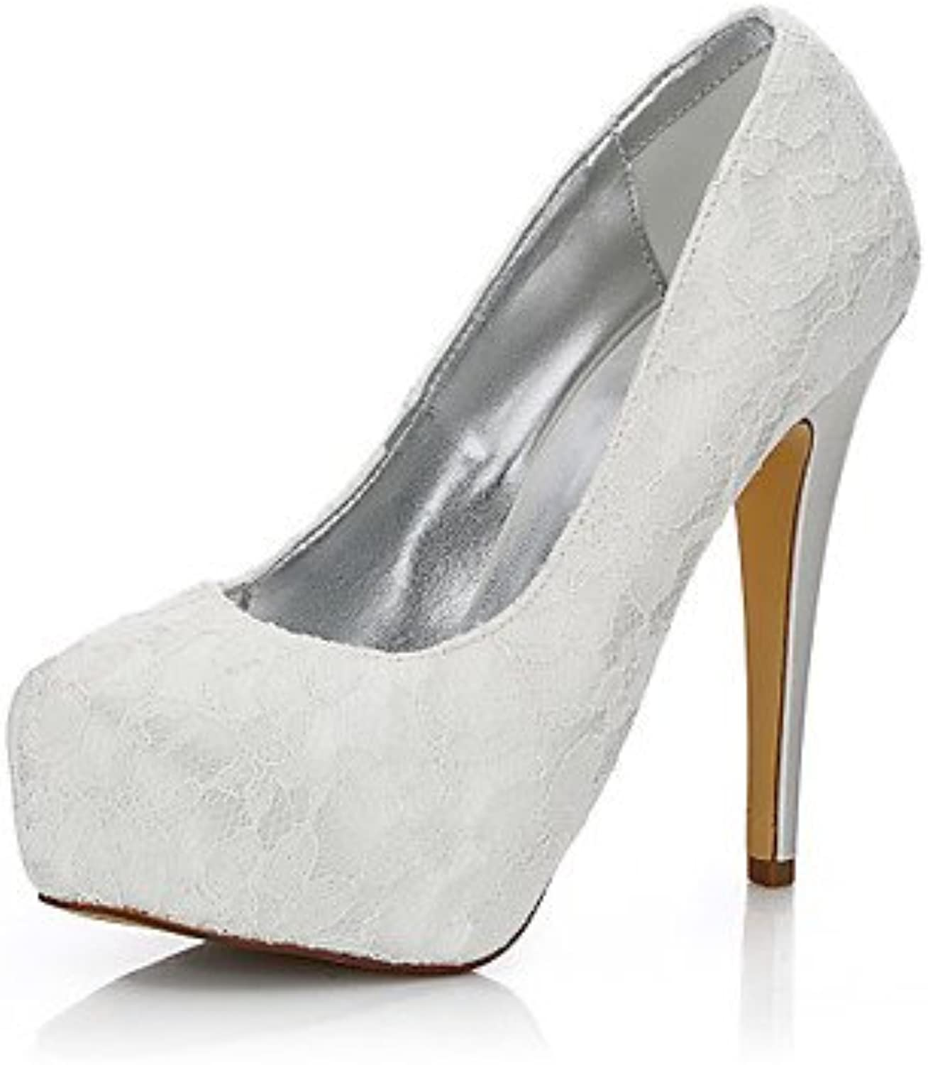 Zormey Women'S Wedding Shoes Fall Winter Club Shoes Comfort Silk Tulle Wedding Outdoor Office &Amp; Career Party...