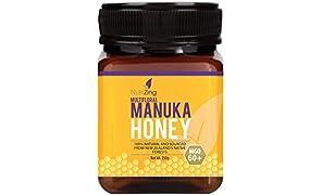 NutriZing's Manuka Honey 60+ ~ 100% Pure Honey ~ Made in New Zealand ~ 250g
