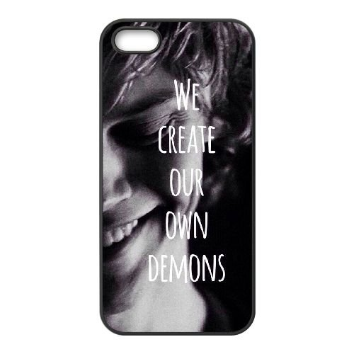 YUAHS (TM) personalizzata posteriore rigida custodia per iPhone 5/5S con Evan Peters yas892487