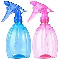 Beaupretty Botella de aerosol vacío Recargable, contenedor de líquido multifuncional para jardín de corte de cabello 550ml 2pcs (colores aleatorios)