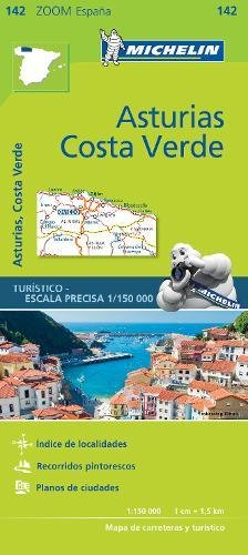 Asturias Costa Verde - Zoom Map 142 par Michelin