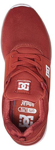 DC Shoes  Heathrow, Sneakers basses homme Rouge