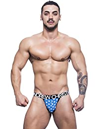 Andrew Christian Almost Naked Collection Multicolor Ghost Print Jockstrap Underwear For Men