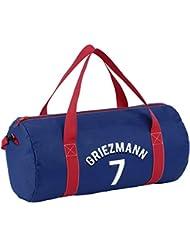 Viquel - sac de sport enfant Antoine Griezmann - sac de sport forme bowling - Licence Officielle - Bleu
