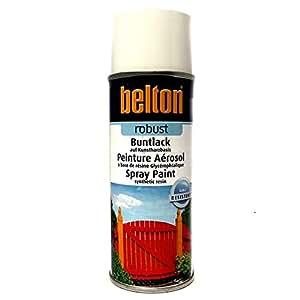 RAL 7032 GRIS SILEX Brillant (BELTON) (Bombe peinture 400 ml) - bombe aerosol reparation peinture carrosserie voiture teintes standrard et RAL (reference couleur constructeur 150 ou 400 ml)