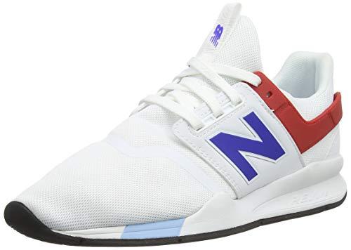 New Balance Herren 247v2 Deconstructed Sneaker, Weiß (White White), 42 EU -