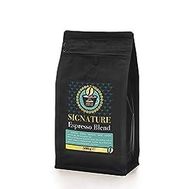 ORANGE HAT COFFEE Signature Espresso Blend – 500g of Espresso Beans Low Calorie, Low Acid Espresso Coffee Drink…