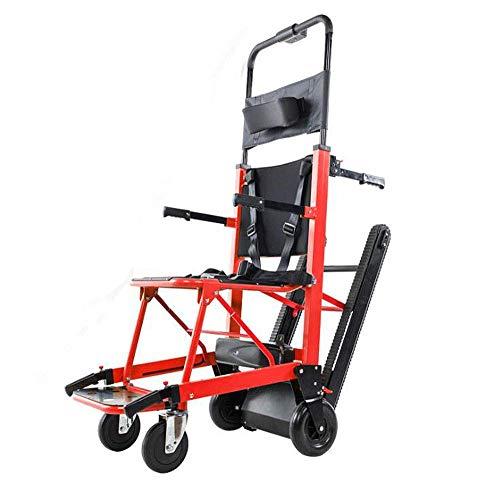 La silla de ruedas eléctrica plegable puede subir escaleras. Silla de ruedas portátil. Viaje ligero, para discapacitados y ancianos. Sube...