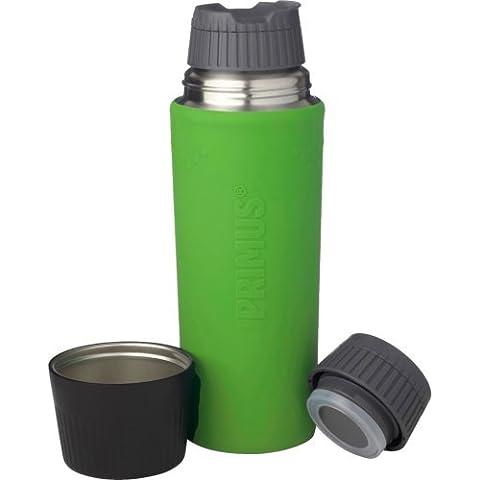 Primus TrailBreak EX bottiglia durevole vuoto con Custodia in silicone - verde (750 (Verde 750ml Bottiglia)