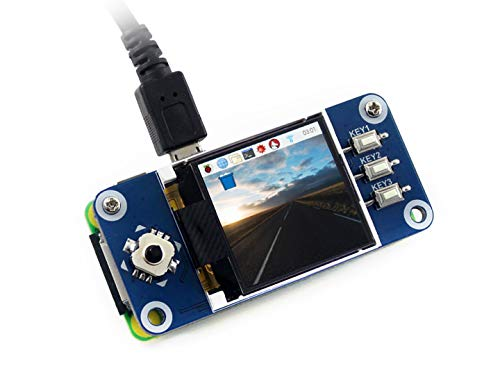 Waveshare Raspberry Pi 128x128 Pixels 1.44inch LCD Display Hat with Embedded Controller,Communicating Via SPI Interface - Lcd-display-controller