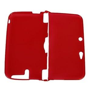 Schutz Silikon Skin Hülle Für Nintendo 3DS XL Ll – Klare Rote