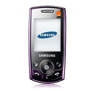 Samsung J700 Orange Pre-Pay Mobile Phone Including £10 Airtime - Purple