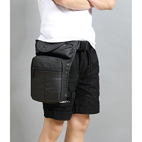Foino Bolso de Cintura Outdoor Riñonera Bolsos Gimnasio Hombre Bolsa de Pierna Deporte Bolsas de Viaje Carteras Pequeñas Movil Sport Bag