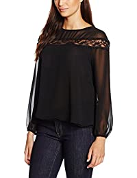 Mexx Damen Blusen Women Blouse Long Sleeve