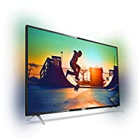 تلفزيون ذكي فيليبس 50PUT6233/56 حجم 50 بوصة بتقنية ليد - اسود