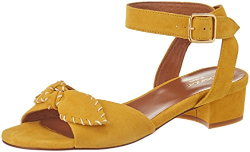 Schmoove Woman - Damen - Vega Ankle Kid Suede - Sandalen - gelb