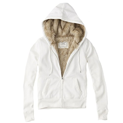 abercrombie-womens-faux-fur-lined-hoodie-fleece-sweatshirt-hoody-size-10-brand-size-medium-white-625