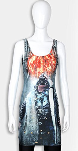 THENICE Damen Weste Kleider Reizvolle dünne Kleid Terminator