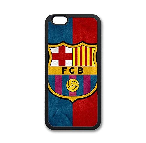 Coque silicone BUMPER souple IPHONE 4/4s - Barcelone BARCA barcelona CASE tpu DESIGN + Film de protection INCLUS 4
