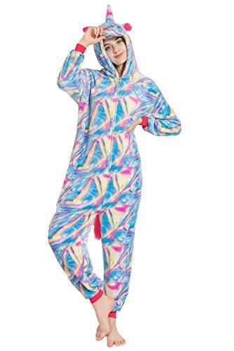 Pijama Unicornio Unisexo Adulto Cartoon Disfraz Animales
