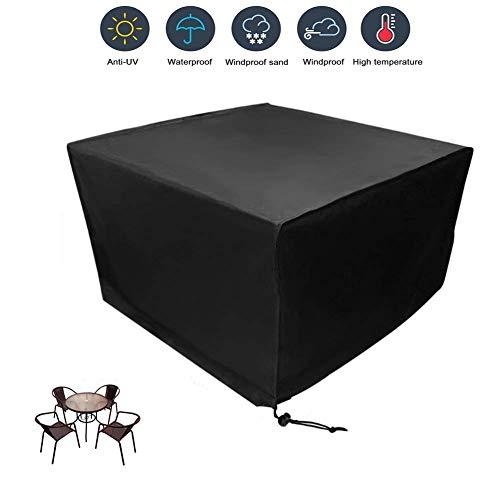 BoRui Coperture per mobili da Giardino Tessuto Oxford 210D Copertura Impermeabile per Barbecue Protezione dai Raggi UV per sedie e tavoli Quadrati