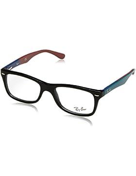 Ray-Ban 0Rx5228, Monturas de Gafas para Mujer, Black, 50