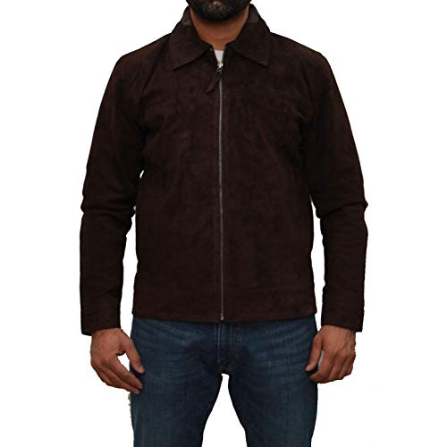 A to Z Leather Biker-Bomberjacke für Herren in Zwei Ausführungen mit Hemdkragen oder chinesischem Kragen. Erhältlich in Leder und...