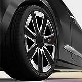 CM DESIGN GTX Carbon Schwarz Silber - 15 Zoll, passend für Fast alle FIAT z.B. für FIAT Grande Punto EVO Typ 199 für CM DESIGN GTX Carbon Schwarz Silber - 15 Zoll, passend für Fast alle FIAT z.B. für FIAT Grande Punto EVO Typ 199