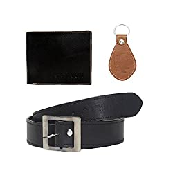 Mens Wallet combo with belts