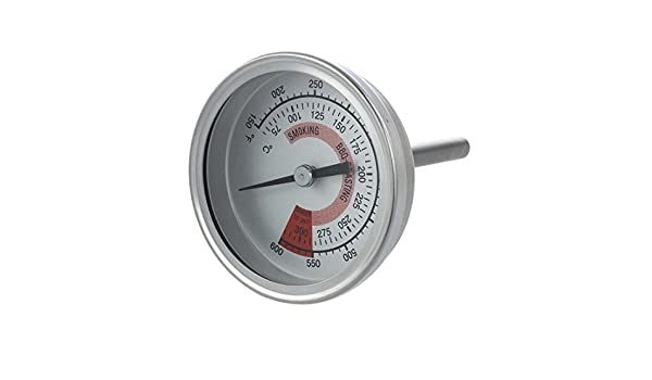 Vaorwne 57mm Zeigerthermometer Bimetall Thermometer 300?/°C 600?/°F