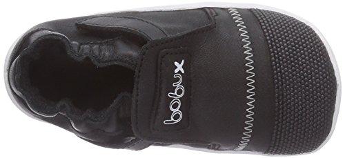 Bobux 460785 Unisex-Kinder Sneakers Weiß (schwarz/weiss)
