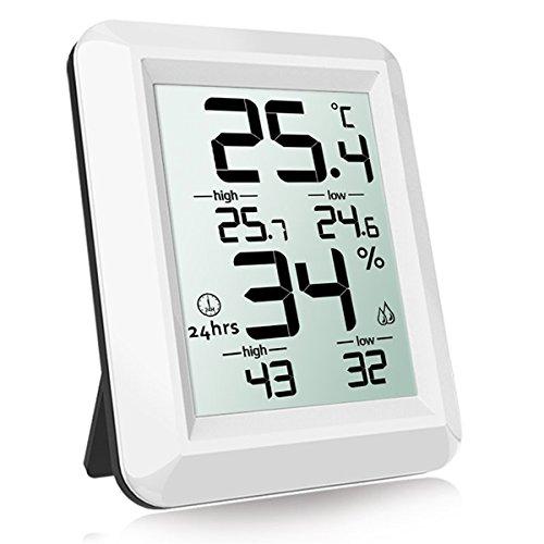 Honyear Digitales Thermo-Hygrometer Digital Thermometer Digitaler Hygrothermograph Temperatur und Feuchtigkeitsmonitor