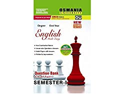 OU-Sem-I-Degree-English-Test-Papers- (QB)-2017