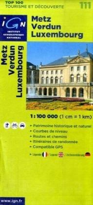Metz/Verdun/Luxembourg: IGN.V111