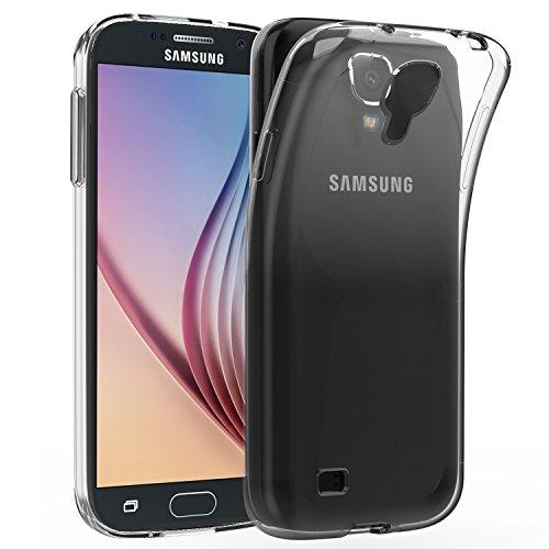 Galleria fotografica JETech Cover per Samsung Galaxy S4, Morbido Trasparente Custodia con Assorbimento Degli Urti, HD Chiaro