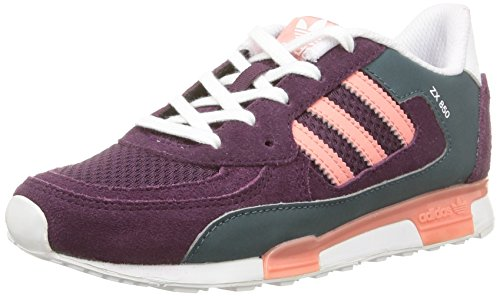 adidas Zx 850, Baskets Basses fille Rose (Merlot St /Peach Pink St/White)