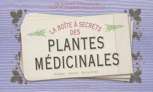 Boite à secrets des plantes médicinales par François Couplan