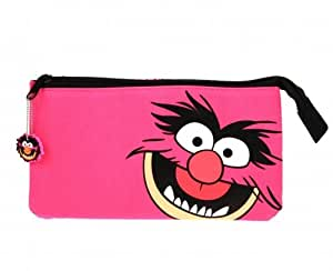The Muppets 3 Pocket Stationery Character Pencil Case