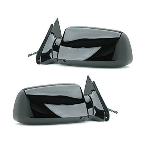 88 - 98 Chevrolet Silverado GMC Sierra Door Mirror Pair Set Power Black Blazer Jimmy Suburban Tahoe Yukon Driver and Passenger by Not OEM - Gmc Jimmy Aftermarket