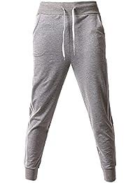 Hombre Bolsillos Pantalones Gym Deportivos Jogging y Tiempo Libre
