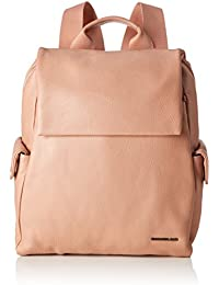 Mandarina Duck Mellow Leather Tracolla, Sacs portés épaule femme, Rose (Dusty Rose), 10x32x28 cm (B x H T)