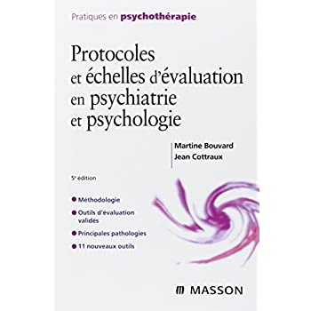 Protocoles et échelles d'évaluation en psychiatrie et psychologie: POD