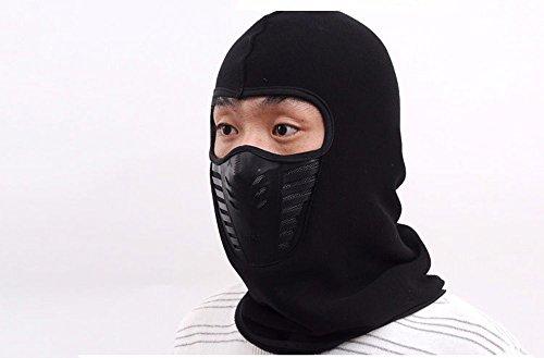 Maskiert hat, maskiert hat Männer und Frauen verdicken Fleece hut Kragen Warme, winddichte Maske, (Mann Schwarz Maske Maskierter)