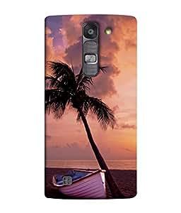 Snapdilla Designer Back Case Cover for LG G4 Mini :: LG G4c :: LG G4c H525N (Beach Water Sand Scenery Pink Blue Sky)