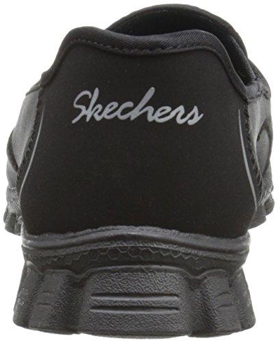 Skechers Easy Flex 2, Ballerine Donna Nero