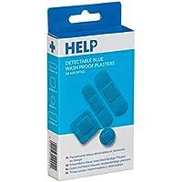 HELP Sterile blaue wasserdichte Abputzen 40 Packen preisvergleich bei billige-tabletten.eu