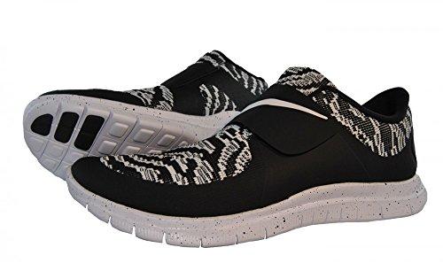 Nike Free Socfly Pa, Scarpe da Corsa Uomo Nero / Bianco (nero / bianco-bianco)