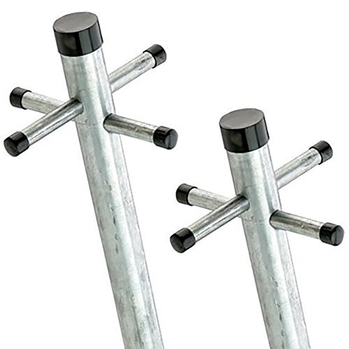 watsonlok-24m-twin-pack-galvanised-washing-clothes-post-line