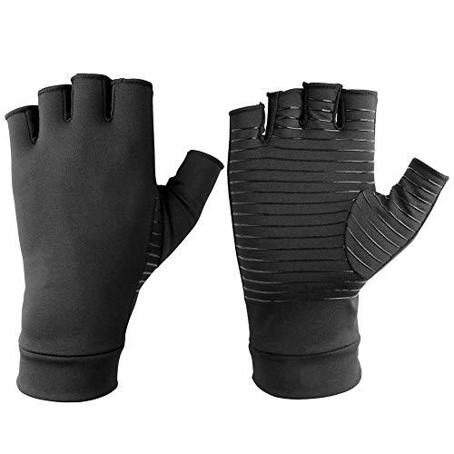 Alftek Kupferfaser Kompression Arthritis Handschuhe schmerzlinderung Handgelenk gelenke unterstützung Klammer -